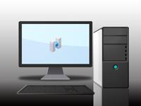 コンピューター(PC[パソコン]など)の画像