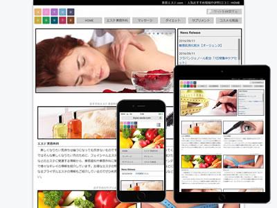 アフィリエイトサイト関連のサイト制作実績の画像