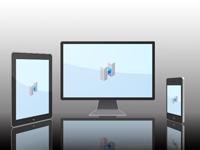 スマートフォン対応ホームページ[HP]の画像